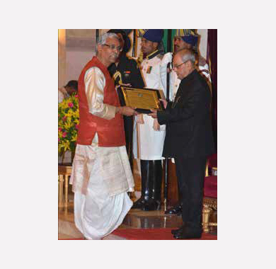 Vidyarthi Award for Baldeo Sharma